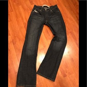 Diesel Industry Womens Blue Jeans made in Italy